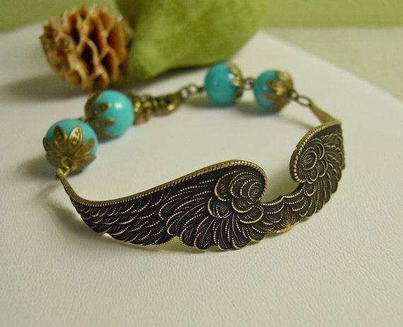 Free Shipping - Wings of Peace Bracelet II