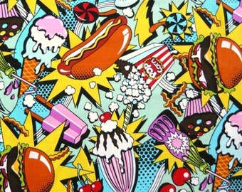 Midnight Snack- Alexander Henry 1 Yard Fabric