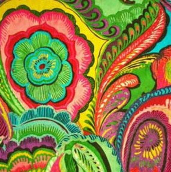 Guadalajara- Flowers Alexander Henry  1 Yard Fabric NEW