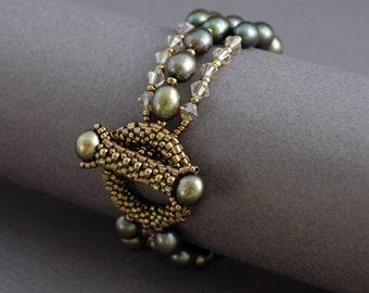 Olive Berries Bracelet