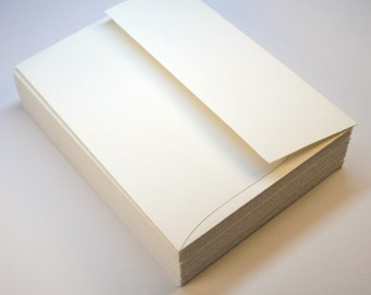 A2 Envelopes Antique WHITE 25 pack Stationery Wedding Supplies WINTER SALE