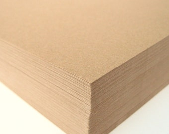 Kraft Smooth Cardstock 30 Full Sheets Wedding Invitation Scrapbook Paper DIY Projects
