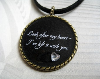 Look After My Heart Necklace (CLEARANCE, LAST ONE)