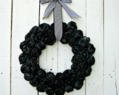 Ready to Ship Halloween Wreath