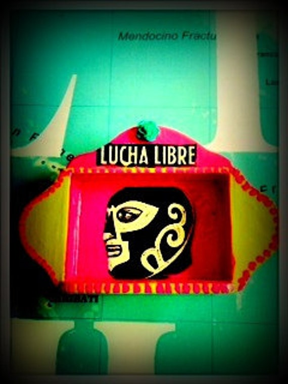 Reserved for Frederique Lucha Libre Libre Ole