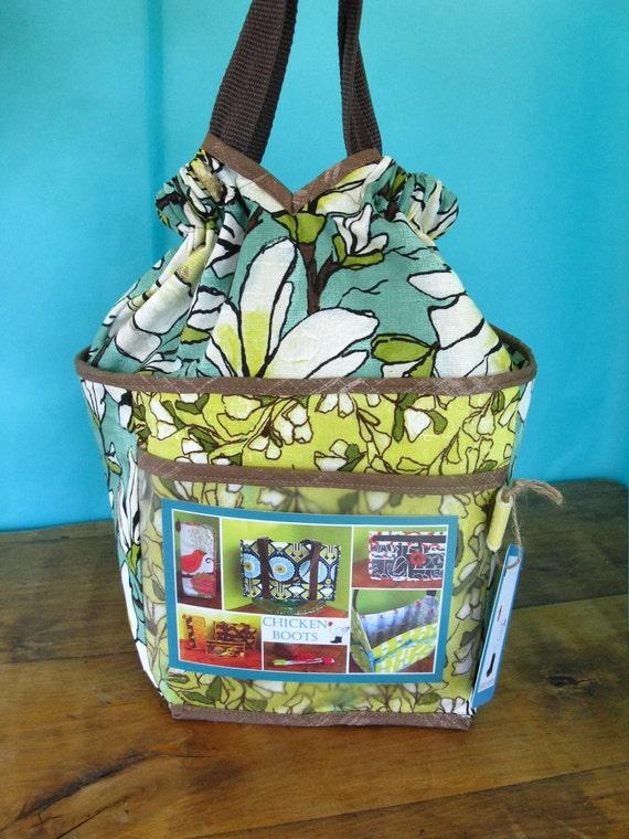 New Draw Handle Bag-Magnolias