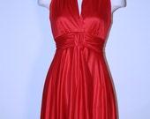 Vintage 70s Glam Long Disco Party Maxi Dress