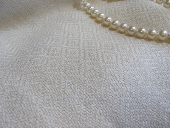 Cream White Alpaca Shawl, Hand Woven Traditional Wedding Bridal Wrap Oversized Spring Winter Fall Celebration Formal Fashion Accessory Scarf