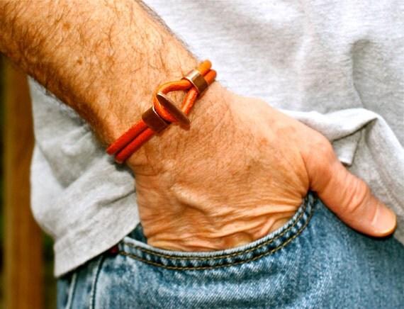 Best Selling Mens Bracelet Mens Leather Bangle Mens Leather Bracelet Fathers Day Gift For Man For Dad Mens Jewelry For Husband