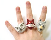 Best Friend Ring Set - BFF Rings - Matching Rings - BFF Jewelry - 2 Two or 3 Three