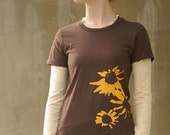Black Eyed Susan Organic Cotton T-shirt