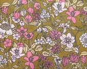 MacKenzie's :Flora, Organic Cotton, Julia Rothman, 1.5 yrds