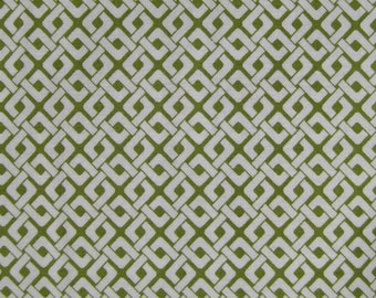 Links Olive, Organic Cotton, 1 yd