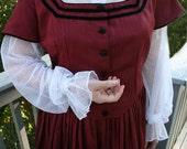 Undersleeves - Civil War Detachable Sleeves