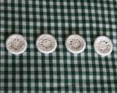 Handmade Dorset Buttons - Set of 4