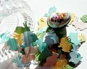 Confetti, 100 Pastel Bunnies/Decor/Party/New Born/Birthday/Event/Paper