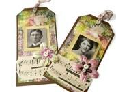 Gift Tags Set of 2  Oli and Sven