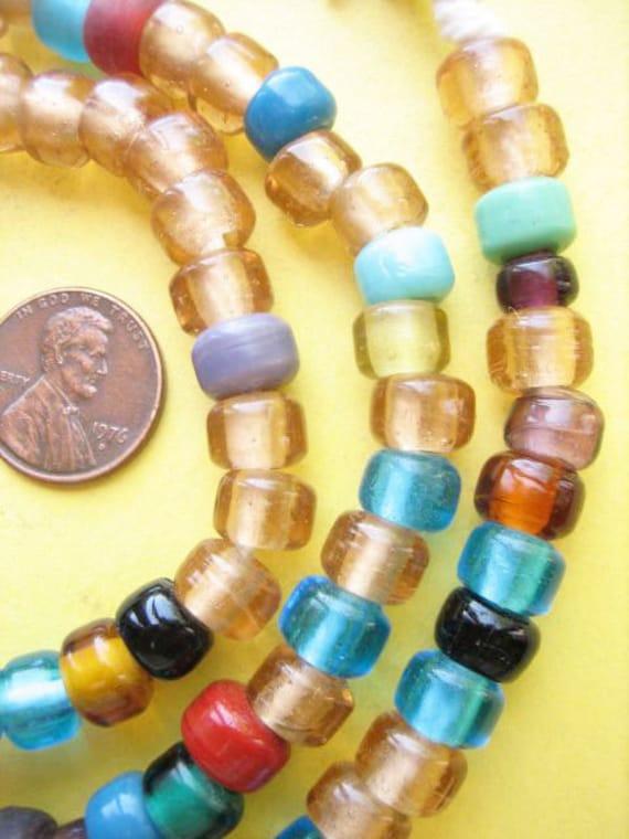 Mixed Glass Padre Beads