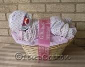 Pink Napping Baby Basket(TM)