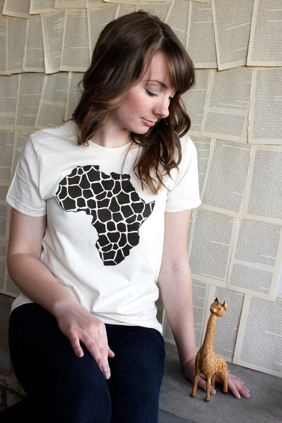 RESERVED LISTING for Ingrid - Love for Africa Women's American Apparel T-Shirt