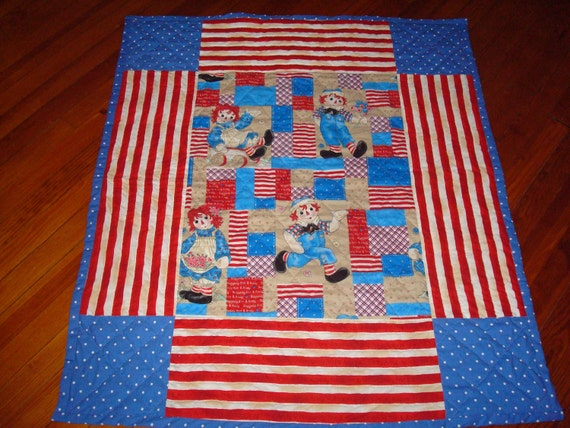 Raggedy Ann and Andy Quilt