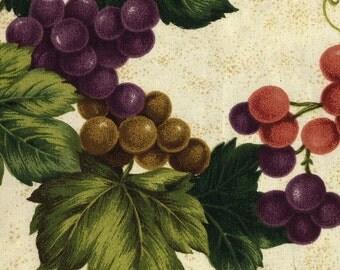 Vineyard Cream - Cranston Village - Large Fat Quarter