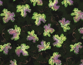 Grape Leaves from Wine Country - SSI - Half Yard