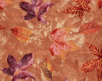 Autumn Leaves Scatter - Wilmington Prints - 1 yard - More Available - Must Go - BTY