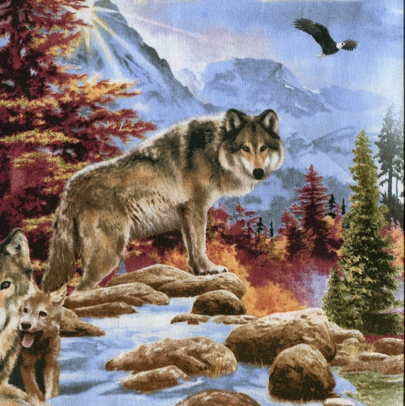 North Country Wolves - Elizabeth Studio - 1 short yard - Last Available