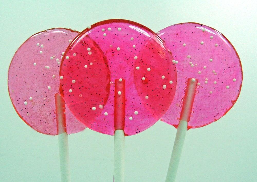 Pink Cotton Candy Nostalgia Lollipop Girlie Girl Wedding