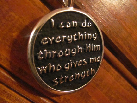 My Strength Necklace