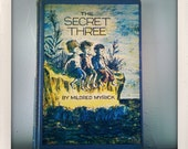 Kindle 2 Cover made from vintage hardback book - The Secret Three