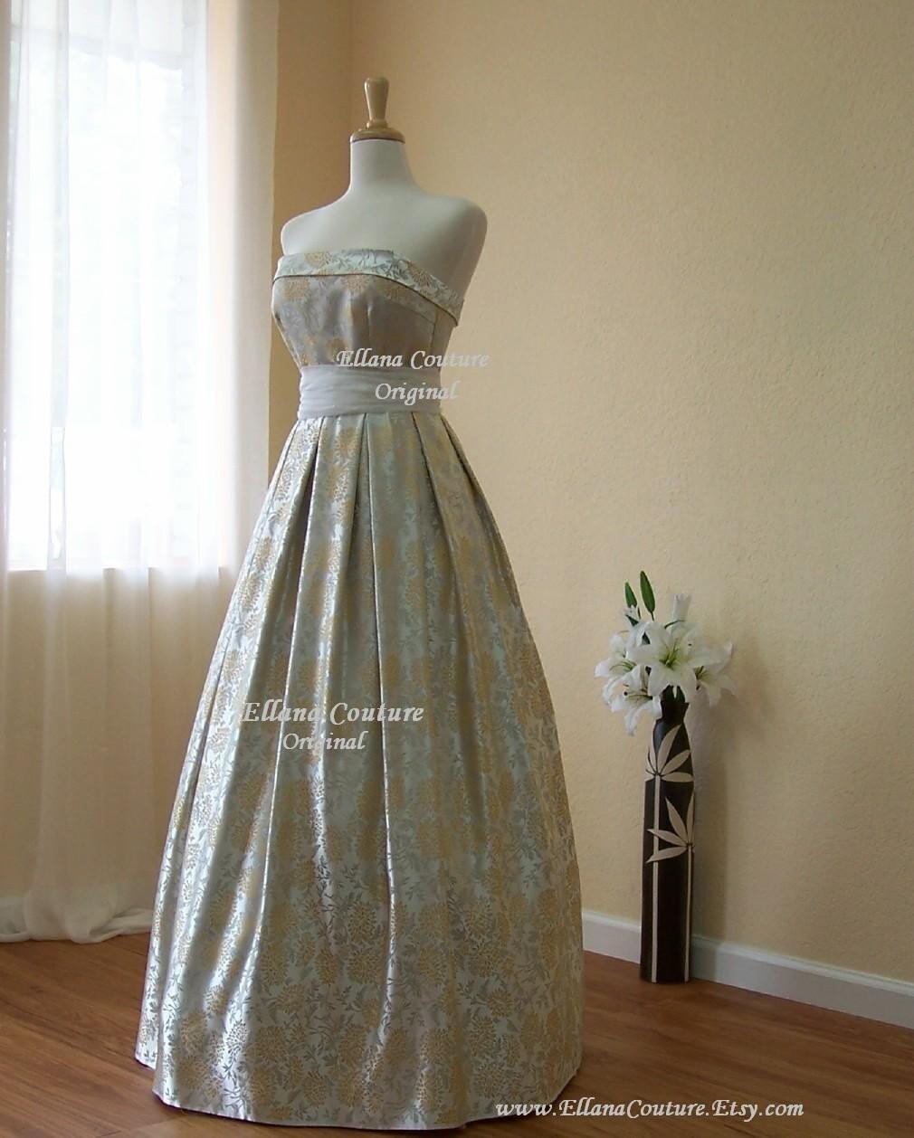Brocade Wedding Dresses
