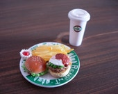 Japanese Miniatures - Burger Lunch