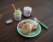Japanese Miniatures - Hamburger set