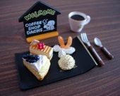 Japanese Miniatures -  Dachs coffee shop