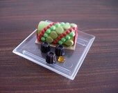 Japanese miniatures - Cake Roll And Dessert