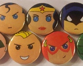 MC Justice League of America Magnet Set (7 Pack)