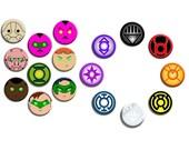DC Comics Lantern Pin Back Button Set (17 Pack)