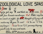 A Zoological Love Spasm