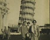 Posing in Pisa
