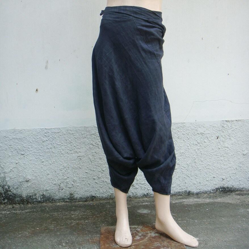 100 Percent Hemp Harem Pants Unisex