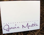Personalized Note Cards / Personalized Stationery / Personalized Notecards / Personalized Stationary Fun Name Set