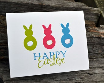 Personalized Easter Set of Note Cards Bunny Tales