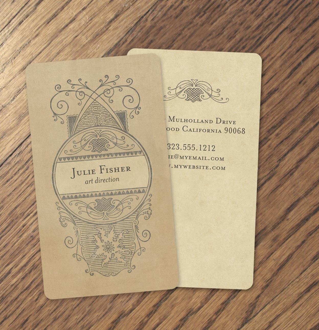 250 vintage calling cards vintage business cards etsy for Business calling cards