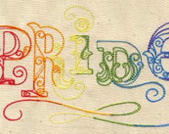 Pride - Embroidered Cotton Kitchen Towel