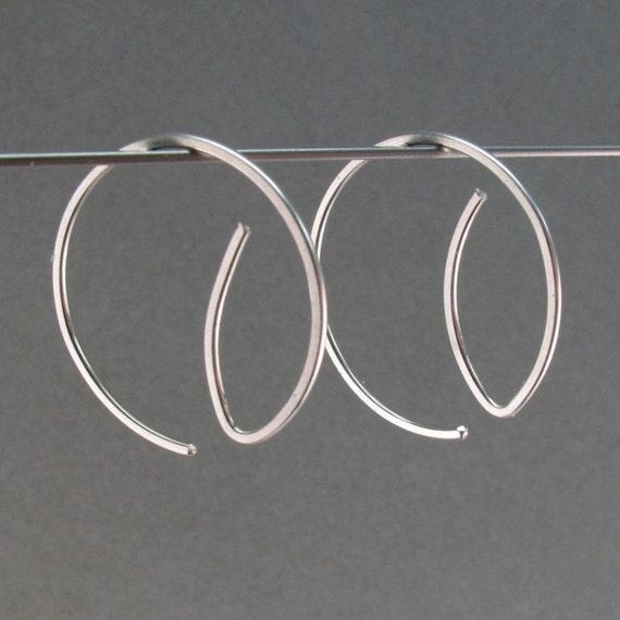small HOOP earrings  . interchangeable . nickel free.  No.00E166
