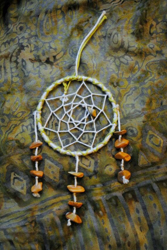 Desert Stone Thread Wrapped Bracelet Dreamcatcher