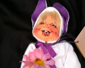 Annalee 1672 Bunny Kid Mobilitee Doll