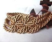 Golden sailor knot headband